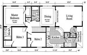 ranch house plans open floor plan newport ranch style modular home pennwest homes model s