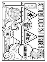Safety Coloring Pages Print Choking Printable Bright Choose Colors Favorite Template Recommended sketch template