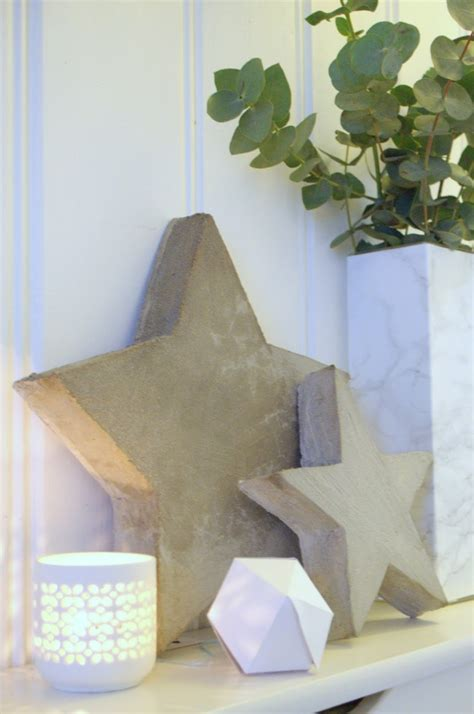 coole bastelideen aus beton  tolle diy wohnaccessoires