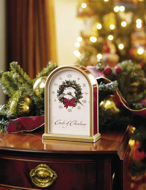 howard miller musical christmas clock carols