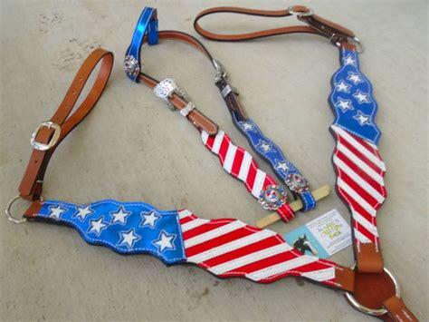 foto de Magic's Custom Tack patriotic red white and blue Stars and
