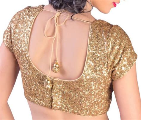 sequin blouses buy capped sleeves gold sequins blouse