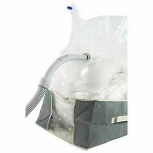 Housse Vide D Air : housse de rangement sous vide 40 x 40 cm maison fut e ~ Melissatoandfro.com Idées de Décoration