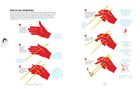 how to use chopsticks the book of everything from lonely planet st christopher s inns