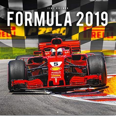 formula    calendar grand prix wall square cm