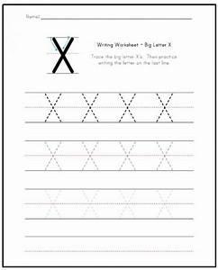 Free Printable Letter X Worksheets for Kindergarten ...