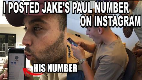 logan s phone number i leaked jake pauls phone number prank wars