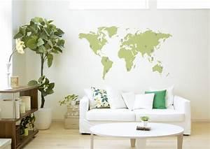 Decoration Murale Carte Du Monde : id e d co murale carte du monde ~ Teatrodelosmanantiales.com Idées de Décoration