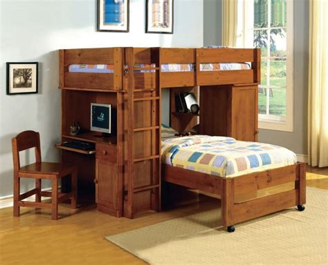 bed with desk 25 awesome bunk beds with desks for