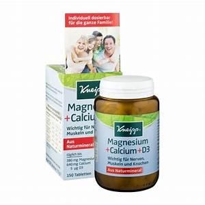 Vitamin D Dosierung Berechnen : kneipp magnesium calcium d3 direkt hier bei nu3 kaufen ~ Themetempest.com Abrechnung
