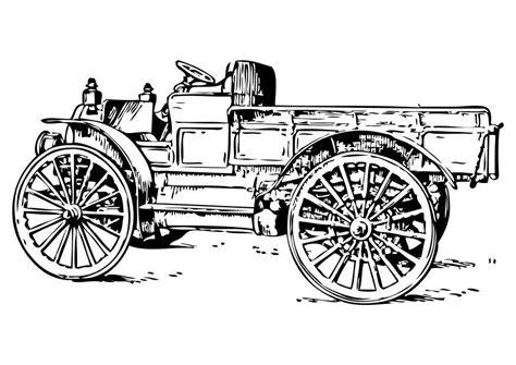 Oude Kleurplaat by Kleurplaat Oude Vrachtwagen Afb 10473