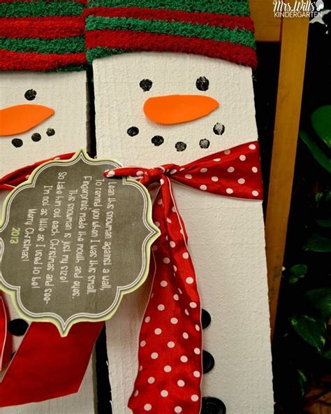 what to give to parents for christmas kindergarten gifts