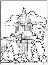 Building Capital Coloring sketch template