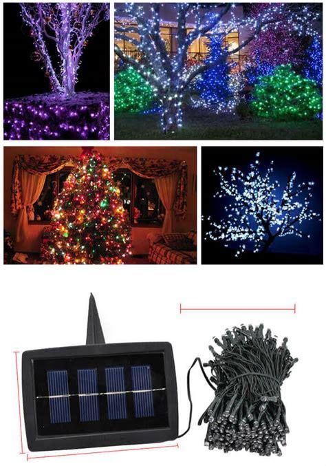 solar tree decoration easyq outdoor products
