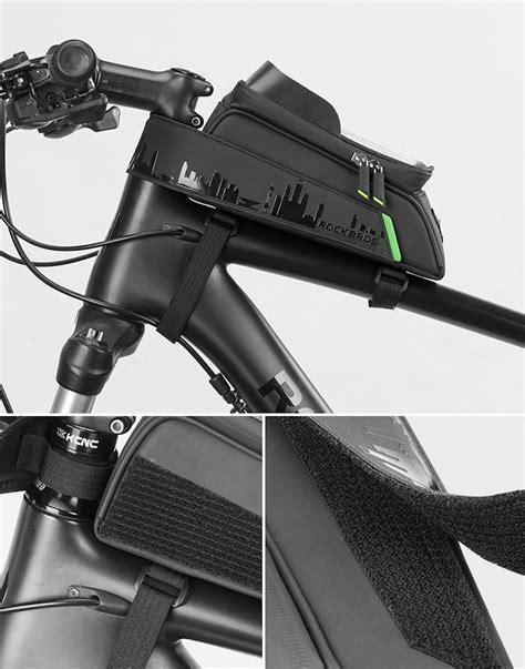 Jual Tas Sepeda Rockbros Tube Depan Waterproof Untuk
