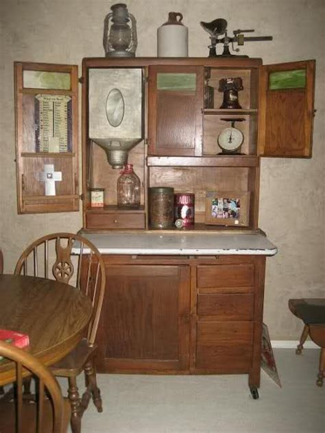 restored kitchen cabinets decorating a hoosier cabinet inside your house 1917