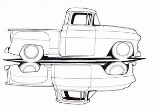 old chevy truck drawings ideas for the house With 1946 ford truck 4x4