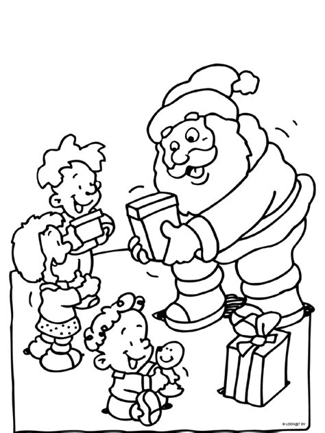 Kerstman En Kerstboom Kleurplaat by Kerst Kleurplaten Kerstman