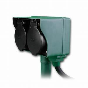 Gartensteckdose Mit Schalter : gartensteckdose 2 fach mit erdspie 250v 16a ip44 ~ Eleganceandgraceweddings.com Haus und Dekorationen