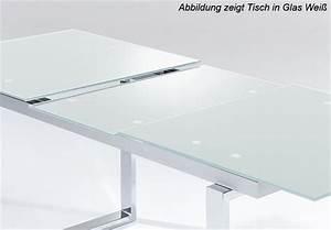 Esstisch Glas Ausziehbar : esstisch ravenna tisch esszimmertisch glas schwarz ausziehbar 160 205 cm ~ Eleganceandgraceweddings.com Haus und Dekorationen