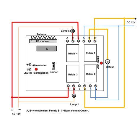 commande radio tag kit emetteur recepteur sans fil