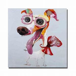 Popular Abstract Animal Face Oil Painting-Buy Cheap