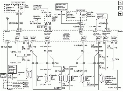 Wiring Harnes Schematic For Chevy Silverado by 2012 Chevy Silverado Wiring Diagram Wiring Forums