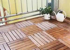 Terrassenplatten Holz Klicksystem : balkonplatten terrassenplatten terrassenfliesen ~ Michelbontemps.com Haus und Dekorationen