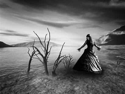 Dark Gothic Wallpapers Lady Fantasy Fondos Bild