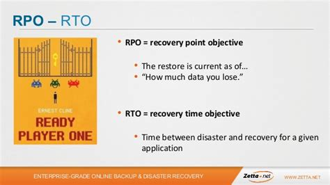 Recovery Point Objective Template by Disaster Recovery Planning Best Practices Templates And