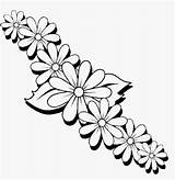 Coloring Flower Border Colouring Printable Drawing Sheets Hawaiian Bird Flowers Adult Getcolorings Plant Drawings Adults Posten Gail Getdrawings sketch template