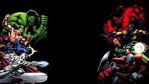 red hulk vs green hulk and friends   Zoom Comics - Daily ...