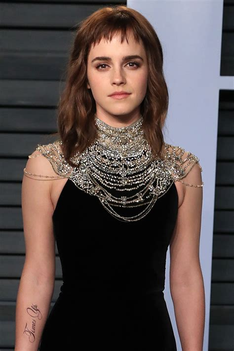 Emma Watson Time Tattoo Why She Being Mocked