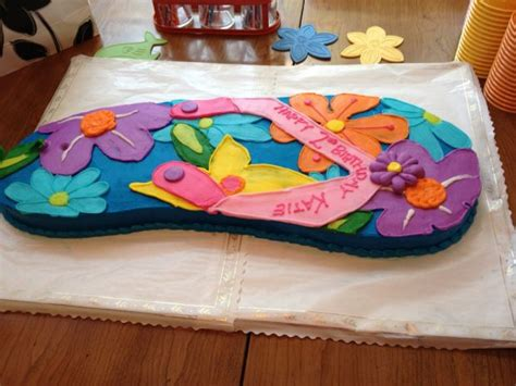 edible flip flop ideas  parties images
