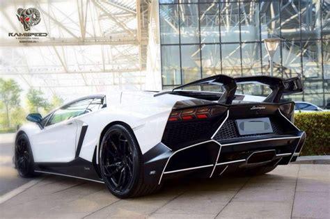Lamborghini Aventador Rear Spoiler by Lamborghini Aventador Lp700 L720 Dtm Carbon Fiber Rear