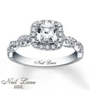 neil engagement rings jewelers neil engagement ring 1 3 8 ct tw diamonds 14k white gold