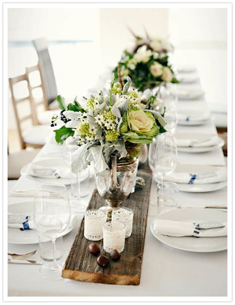rustic table decorations yesenia s blog i think i 39d have rustic style tables with white bone china i like the idea