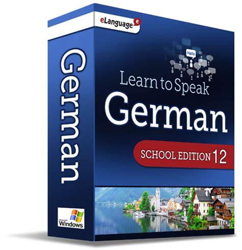Learn To Speak™ German 12, School Edition