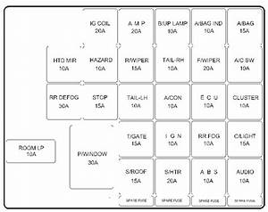 Hyundai Coupe  2004   U2013 Fuse Box Diagram