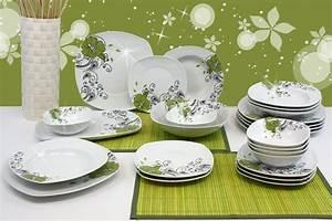 Teller Set Günstig : porzellan 38 tlg tafelservice teller set geschirr 6 personen essservice tafelset ebay ~ Orissabook.com Haus und Dekorationen