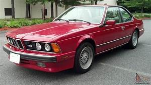 1988 Bmw M6  U0026quot E24 U0026quot  63k Original Miles