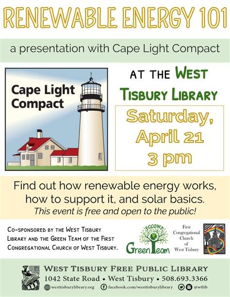 cape light compact renewable energy 101 a presentation with cape light