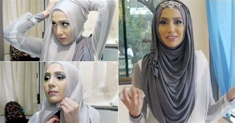 tutorial hijab pretty party   steps fashion hijabers