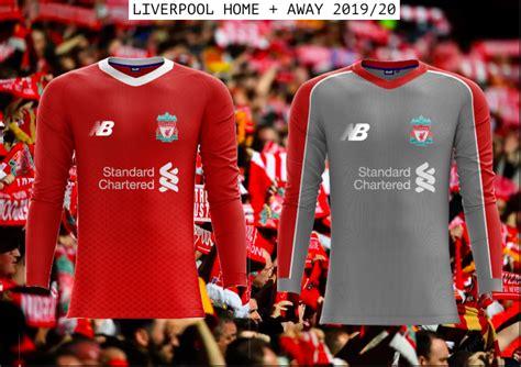 Liverpool Kit 2020 - New Balance Liverpool Home Shirt 2019 ...