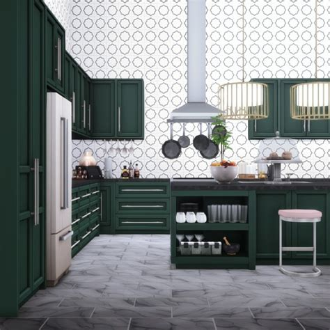 simsational designs quintin kitchen stylish modern