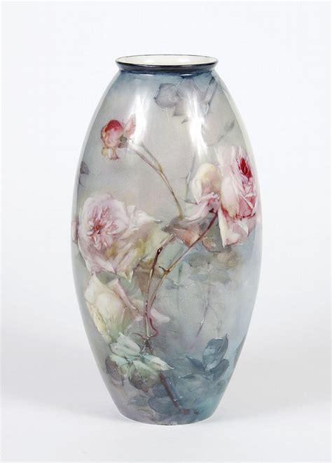 franz porcelain vase franz bischoff 1864 1929 signed porcelain vase large ovo