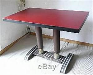 Table Bistrot Ancienne : ancienne table bistrot formica bois vintage ann es 40 50 art deco ~ Melissatoandfro.com Idées de Décoration
