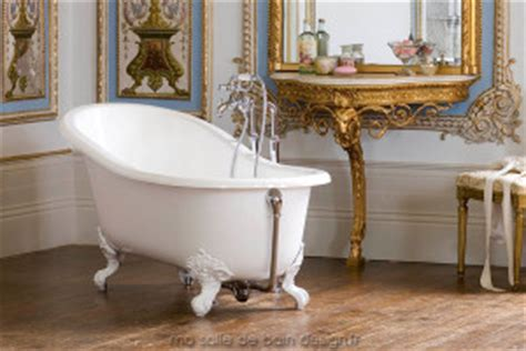 baignoire design ilot baln 233 o acrylique solid surface