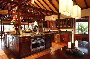 23 fresh tropical kitchen design ideas for Amazing tropical kitchen design