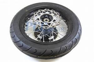 12 U0026quot  Complete Motard Wheel Set W   Rotor Sprocket Ssr Sdg